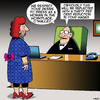 Cartoon: Female wages (small) by toons tagged transvestite,womens,wages,wage,equality,dressing,up,as,woman,workplace
