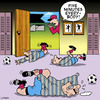 Cartoon: five minutes (small) by toons tagged football,injuries