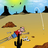 Cartoon: Fore (small) by toons tagged golf,golfers,desert,sport