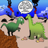 Cartoon: Gay Dinosaurs (small) by toons tagged dinosaurs,prehistoric,history,gay,same,sex,marriage,animal,behaviour,extinction,endangered,species