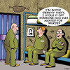 Cartoon: Identity theft (small) by toons tagged identity,theft,murder,jail,crime,prison