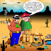 Cartoon: Itchy trigger finger (small) by toons tagged wild,west,cowboys,outlaws,itchy,trigger,finger,rash,creme