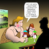 Cartoon: Its a jungle out there (small) by toons tagged tarzan,daiquiris,apes,chimpanzee,and,jane