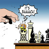 Cartoon: its back (small) by toons tagged chess board games war castles