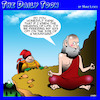 Cartoon: Meaning of life (small) by toons tagged enlightenment,meaning,of,life,guru,freezing