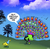 Cartoon: Narcissism Peacock (small) by toons tagged peacocks,narcissism,birds,show,off