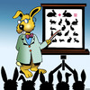 Cartoon: One plus One (small) by toons tagged rabbits,mathematics,sex,children