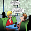 Cartoon: Online profile (small) by toons tagged online,profile,lying,on,resume,first,date,avatar