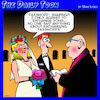 Cartoon: Password exchange (small) by toons tagged wedding,password,exchange,exchanging,vows