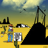 Cartoon: Please wait (small) by toons tagged hanging,wild,west,cowboys,noose,hangman