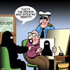 Cartoon: Police artist (small) by toons tagged identity,theft,police,sketch,artist,burqa,burka,religion,islam