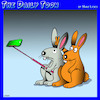 Cartoon: Rabbit ears (small) by toons tagged selfies,rabbit,ears,rabbits,smart,phone,camera