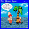 Cartoon: Rising sea levels (small) by toons tagged desert,island,global,warming,rising,sea,levels
