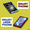 Cartoon: smart arse phone (small) by toons tagged smart,phone,mobiles,iphone,ipads,communications