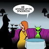 Cartoon: Spacebook (small) by toons tagged facebook,aliens