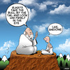 Cartoon: The Guru (small) by toons tagged guru,monk,advice,teacher,spititual,leader