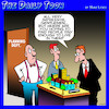 Cartoon: Town planner cartoon (small) by toons tagged town,planners,architects,model,buildings,mock,up,city