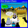 Cartoon: Used car salesman (small) by toons tagged used,cars,sales,lines,camels,family,suv,motor,auto
