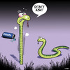 Cartoon: Viagra (small) by toons tagged viagra,snakes,stiff,animals,erectile,dysfunction