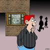 Cartoon: While U wait (small) by toons tagged tattoos,fast,service,piercing,body,art,appearance,gen,needles,ink