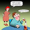 Cartoon: Wikipedia (small) by toons tagged whiskey,alcohol,scotch,drinking,henpecked,nagging