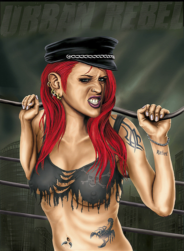 Tattooed Cartoon Characters