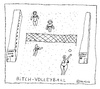 Cartoon: Volleyball (small) by Müller tagged volleyball,sports,olympic