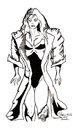 Cartoon: AGENT KNIGHTLY (small) by Toonstalk tagged sexy,agent,spy,trenchcoats,1950,heroine