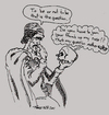 Cartoon: BAD ACTORS (small) by Toonstalk tagged hamlet,skull,actor,theatre,literature