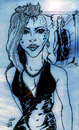 Cartoon: Blue Image (small) by Toonstalk tagged mirror,blue,women,night,evening,enchanting,tatoo,new,style