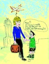 Cartoon: Flight Fright (small) by Toonstalk tagged airplanes,flight,aviation,airport,fear,terminal,death,accident