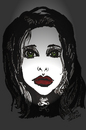 Cartoon: GOTH (small) by Toonstalk tagged gothic,dark,halloween,black,witch,scarey,creepy