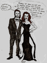 Cartoon: Oscar Scarey Moments (small) by Toonstalk tagged angelina,jolie,brad,pitt,oscar,leg,hollywood,movies,academy
