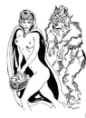 Cartoon: RED RIDINGHOODS GOODIES (small) by Toonstalk tagged sexy red ridinghood wolf erotic fable nude