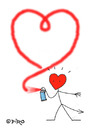 Cartoon: 100 Ways To Say - I Love You (small) by piro tagged heart,graffitti,love,lovedevil