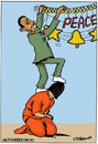 Cartoon: Guantanamo (small) by jrmora tagged guantanamo
