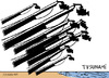 Cartoon: Tsunami en Hawaii (small) by jrmora tagged tsunami hawaii