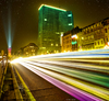 Cartoon: Brussels by Night (small) by BenHeine tagged brussels,benheine,photography,colors,street,architecture,art,the,artistery,couleurs,kleuren,long,exposure,building,phares,light,lumiere,vitesse,belgique