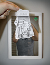 Cartoon: Pencil Vs Camera - 49 (small) by BenHeine tagged pencilvscamera,benheine,portrait,drawing,camera,xxx,dessin,paper,papier,pharmacy,cross,eye,oeil,photography,behind,derriere,illusion,surrealism,dimension,hand,main,brain,cerveau,think,funny,lol,lens,objectif,samsung,nx10,flash,light,lumiere,cartoon,face