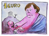 Cartoon: EURO (small) by Christo Komarnitski tagged euro,greece,eu