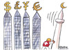 Cartoon: Swiss ban mosque minarets (small) by Christo Komarnitski tagged swiss,ban,mosque,minarets