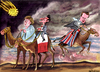 Cartoon: Three wise man (small) by Christo Komarnitski tagged eu,euro,europe,merkel,cameron,sarkozy
