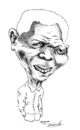 Cartoon: Nelson Mandela (small) by Fredy tagged nelson mandela politic south africa