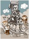 Cartoon: archeology (small) by bacsa tagged archeology