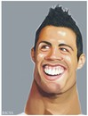 Cartoon: Cristiano Ronaldo (small) by bacsa tagged ronaldo