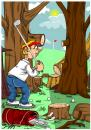 Cartoon: golf (small) by bacsa tagged golf
