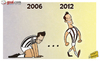 Cartoon: Juventus emerge from dark days (small) by omomani tagged del,piero,juventus,serie