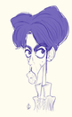 Cartoon: Prince (small) by omomani tagged prince,rock,soul