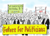 Cartoon: Future for Politicians (small) by Pfohlmann tagged 2019,future,fridays,for,politicians,ämter,kandidaten,eu,kommissionspräsident,evp,kandidat,weber,union,csu,cdu,spd,nahles,fraktionsvorsitz,parteien,politiker,schüler,klimaschutz,klimawandel,proteste,streiks,demo,planet