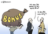 Cartoon: Hartz IV-Bonus (small) by Pfohlmann tagged hartz,iv,erhöhung,bonus,bank,banken,bankmanager,bankenkrise